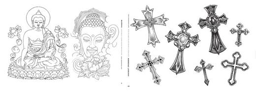 Tatuaggio croce dei templari