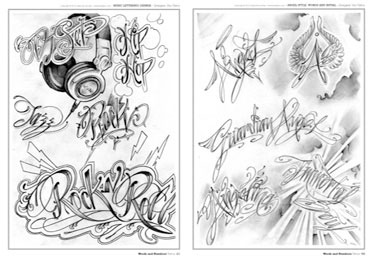 Graffiti Tatto on Scritte Tattoo Dedicate All Angelo Custode E Al Regno Spirituale